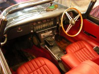 1969 E Type interior before