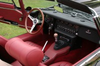 1969 E Type interior after